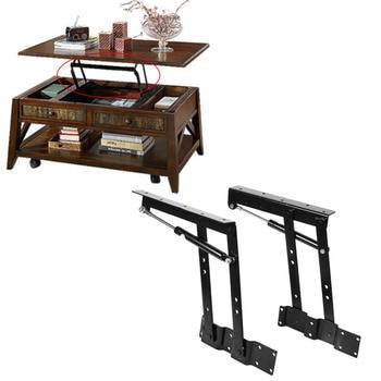 цена 2xMulti-functional Lift Up Top Coffee Table Lifting Frame Mechanism Spring Hinge Furniture Lift Up Hinge Spring Hardware Set New онлайн в 2017 году