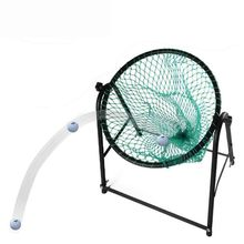 CRESTGOLF Top quality golf chipping net adjustable golf chipping practice net golf training cages practice mat