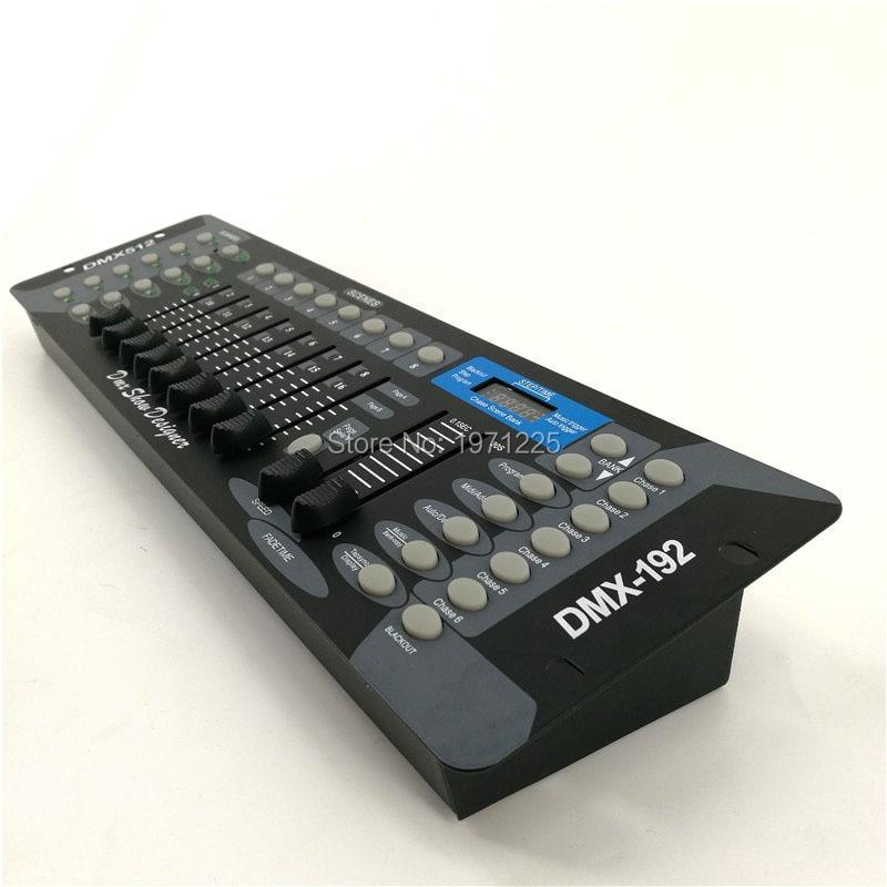 (2pcs) Good Quality 192 DMX Console Dj Controller Console for led par moving head lights with DMX controller for Disco Events dmx512 digital display 24ch dmx address controller dc5v 24v each ch max 3a 8 groups rgb controller