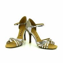 Leatherette Upper Latin / Salsa Dance Performance Shoes w122-16 for women 3.5 Slim Heel