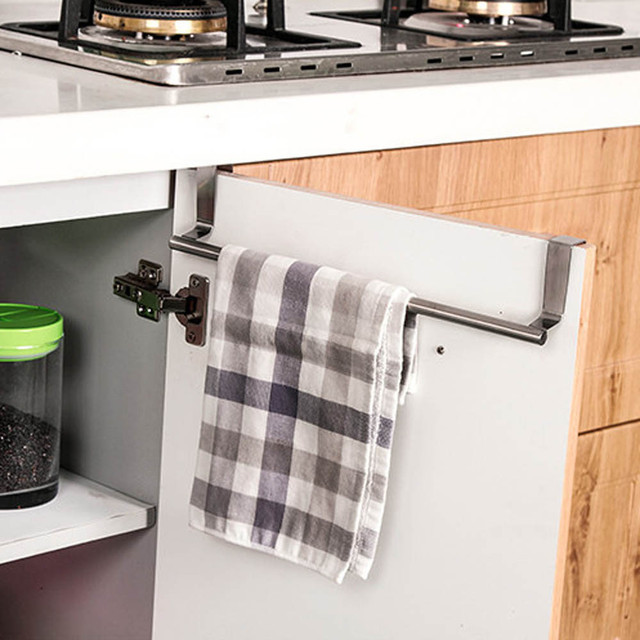 23 cm (W) küche Reinigung Handtuchhalter Über Türschild Platzsparend ...