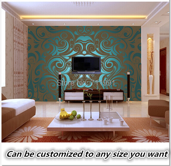 Custom vintage wallpaper,3D art swirl liquid wallpaper for the living room TV backdrop bedroom wallpaper PVC wallpaper