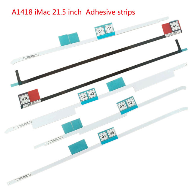 Hot Original new  27'' 21.5''  Tape/Adhesive Strip sealing strips for iMac 27 inch A1419  iMac 21.5'' A1418 All-in-one computer
