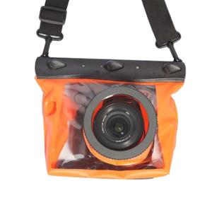 Image 2 - Centechia 수중 다이빙 카메라 하우징 케이스 파우치 드라이 백 카메라 Canon Nikon DSLR SLR 용 방수 드라이 백