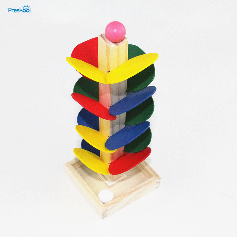 Montessori Kids Toy Baby Toys Colorful Wooden Assembly Flying Beads Learning Educational Preschool Training Brinquedos Juguets