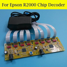 65% OFF by DHL Chip Decoder For EPSON R2000 2000 Printer Reset All Colors At Same Time easy to install auto reset chip decoder for epson stylus pro 4800 printer decoder chip 2pcs per set