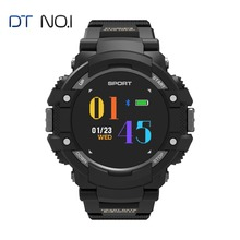 Купить с кэшбэком DTNO.1 F7 GPS Smart Watch Men IP67 Bluetooth 4.2 Waterproof Altitude Temperature Sports Smartwatch Speed Tracker Heart Rate 2018