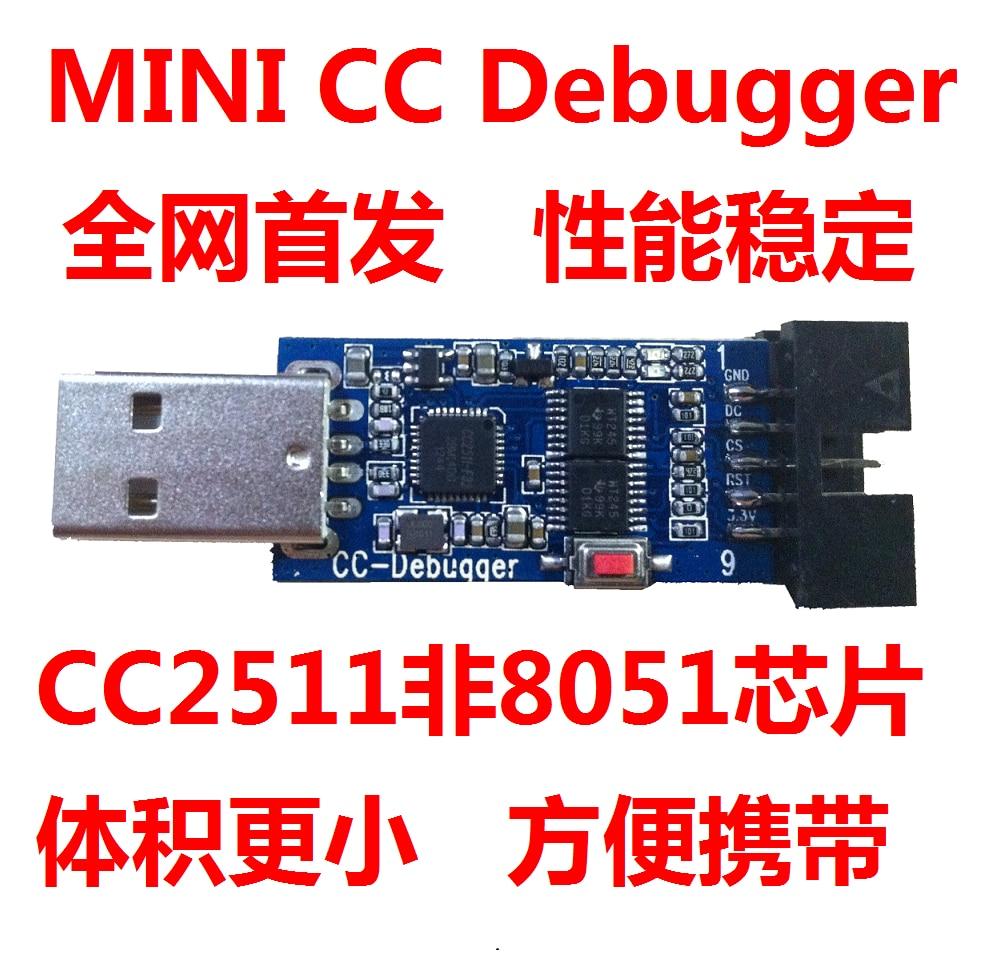 Bluetooth ZigBee Emulator CC-Debugger Supports the 2540/41/30 Protocol Analysis /Mini Version цена