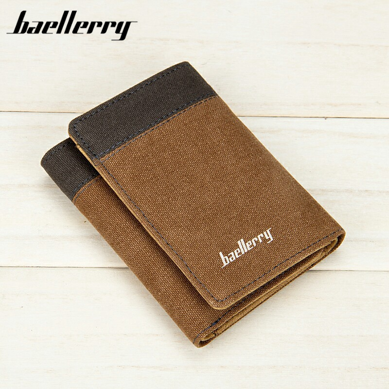 Baellerry New Luxo Famosa Letter Klatch Masculino Dos Homens Walet Carteira Handy Cuzdan Perse Card Holder Standard Wallets