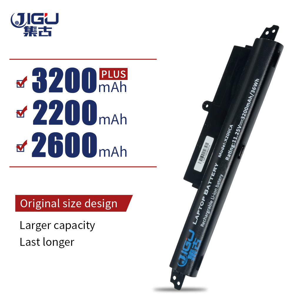 JIGU Laptop <font><b>Battery</b></font> A31LM2H A31LM9H A31LMH2 A31N1302 For <font><b>ASUS</b></font> For VivoBook F200CA F200M F200MA FX200CA R202CA <font><b>X200CA</b></font> X200MA image