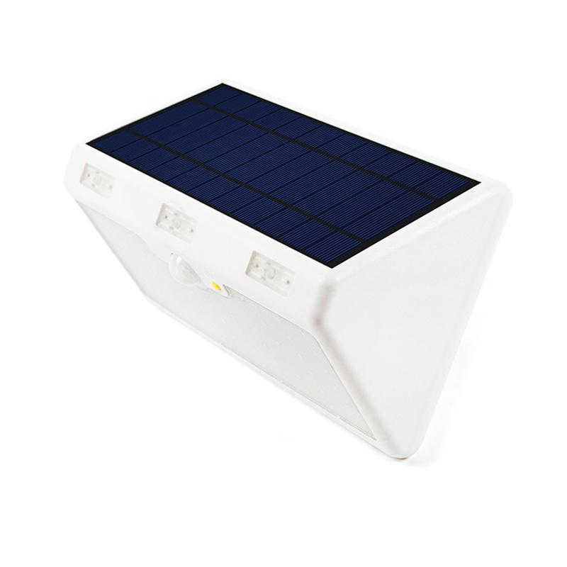 Solar Motion Sensor Light with 60 LED Built-in 9600mAh Rechargeable Batteries Wireless Waterproof LED Security Lights ...