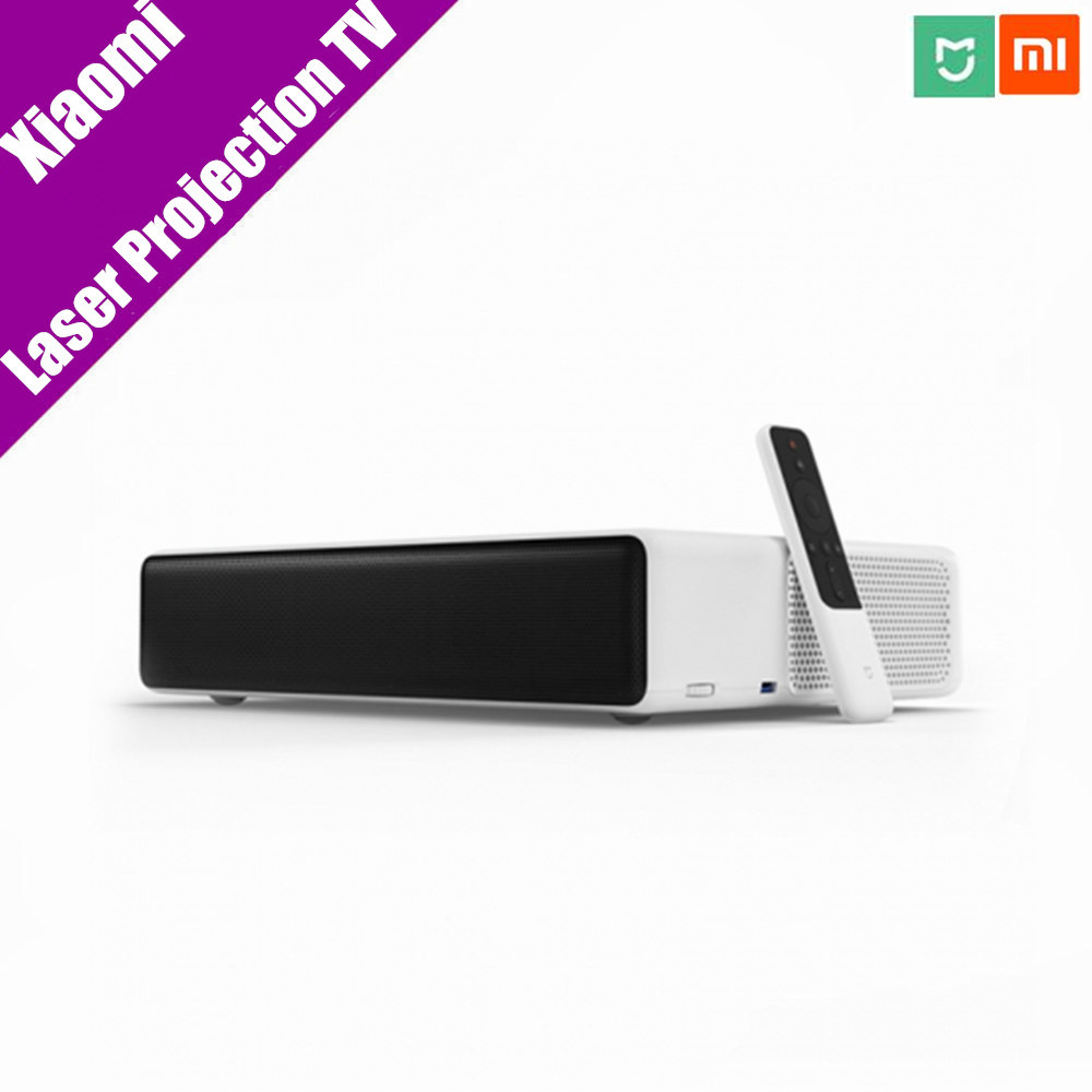 Pre-Sale Original Mi Mijia Laser Projection TV 150 Inches 1080 Full HD 4K Bluetooth 4.0 Wifi 2.4/5GHz Support DOLBY DTS 3D newest 100% original xiaomi tv 3s 43 inches english menu 1920 1080 full hd quad core household tv