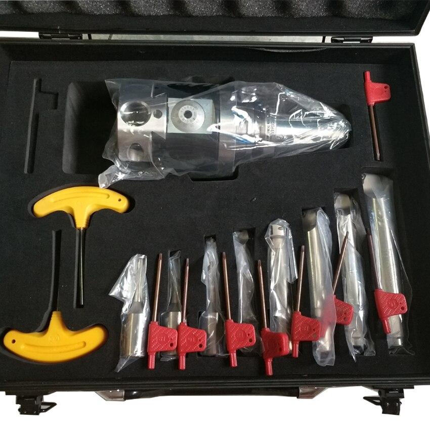 discount BT40 NT40 SK40 R8 MT5 MT4 MT3 NBH2084 Boring Head System +8pcs 20mm Boring Bar rang 8-280mm Boring Tool Set цена и фото