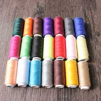 21 kinds of optional colors 1pc 200yards Sewing Thread Polyester Thread Set Strong And Durable Sewing Threads For Hand Machines