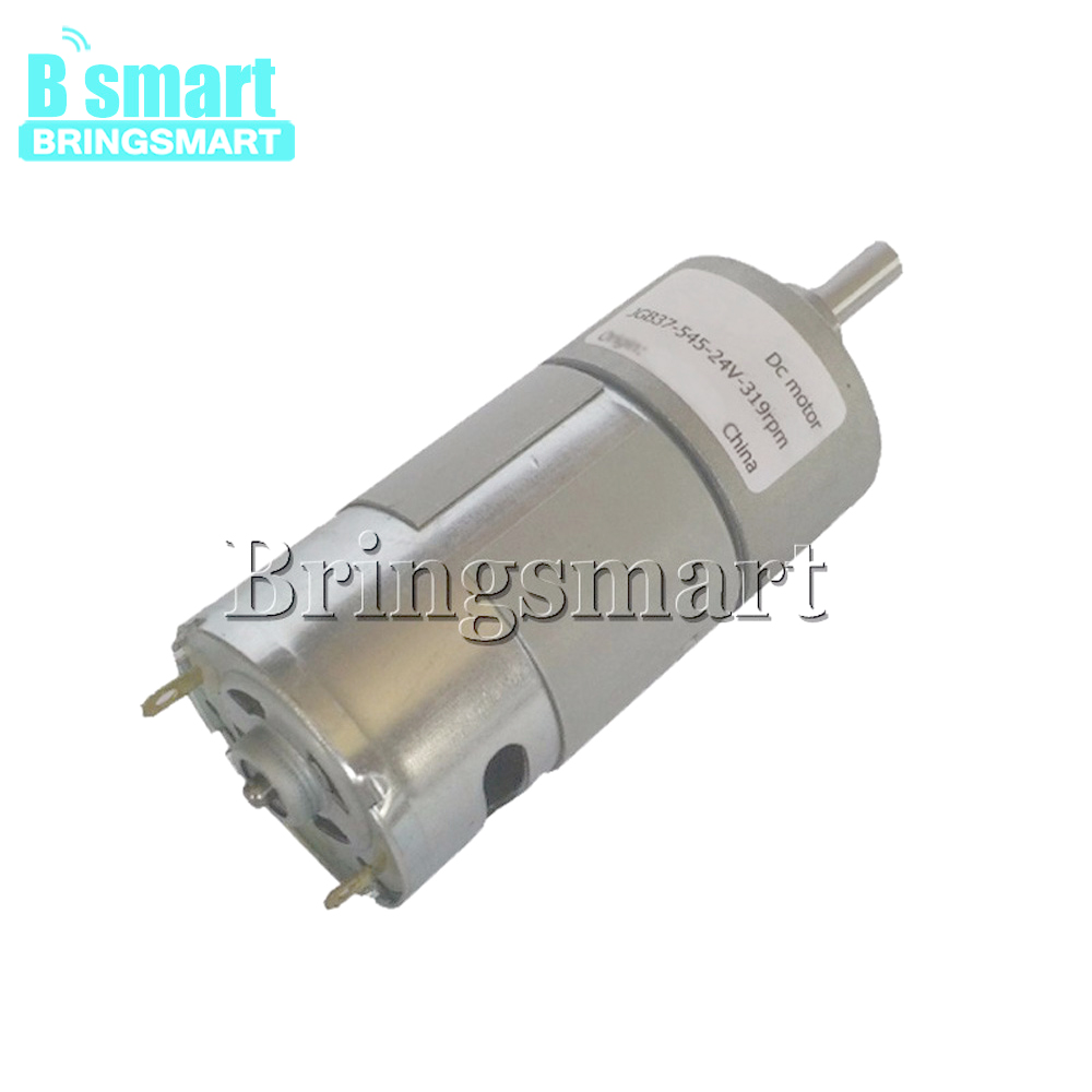 Großhandel JGB37-545 Hohe Geschwindigkeit Elektromotoren 7-960 rpm Mini Motor 12-36 V Hohe Drehmoment Drucker DC motor Reduktion 24 V Getriebe Motor