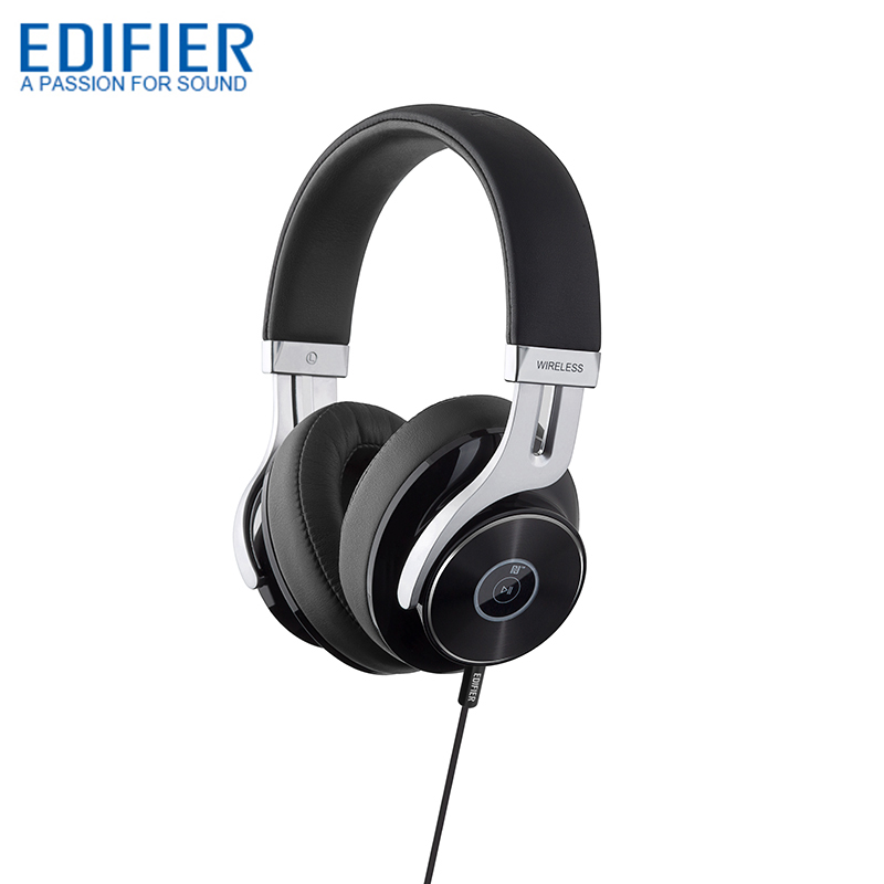 EDIFIER W855BT Over ear Bluetooth Headphones Stereo Music Wireless Headphone BT 4 1 with Mic 3