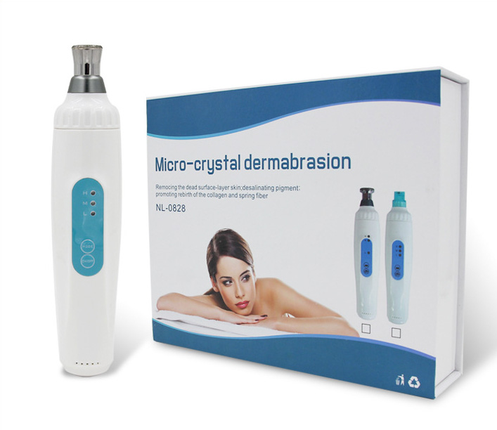 Microdermabrasion Mini Diamond Micro-crystal Dermabrasion Therapy Facial Skin Care Device Anti-aging Rejuvenation