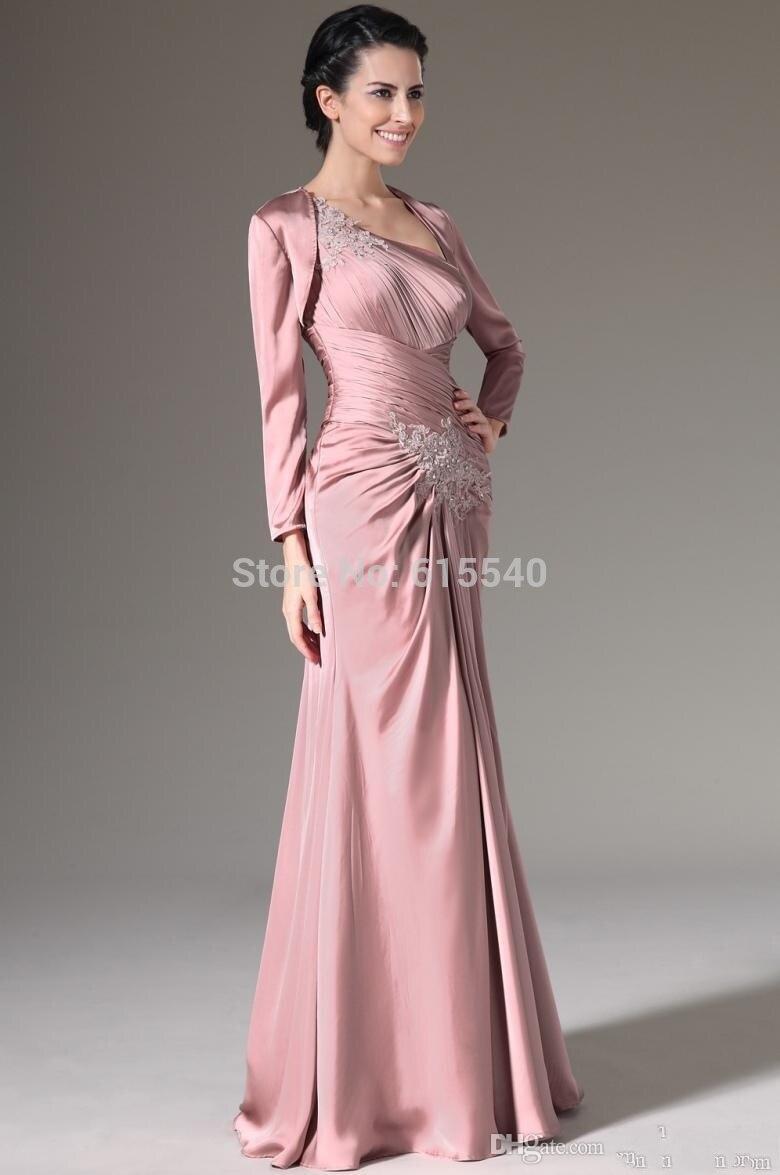 Madre de la novia vestido y abrigo vestidos elegantes azules ...