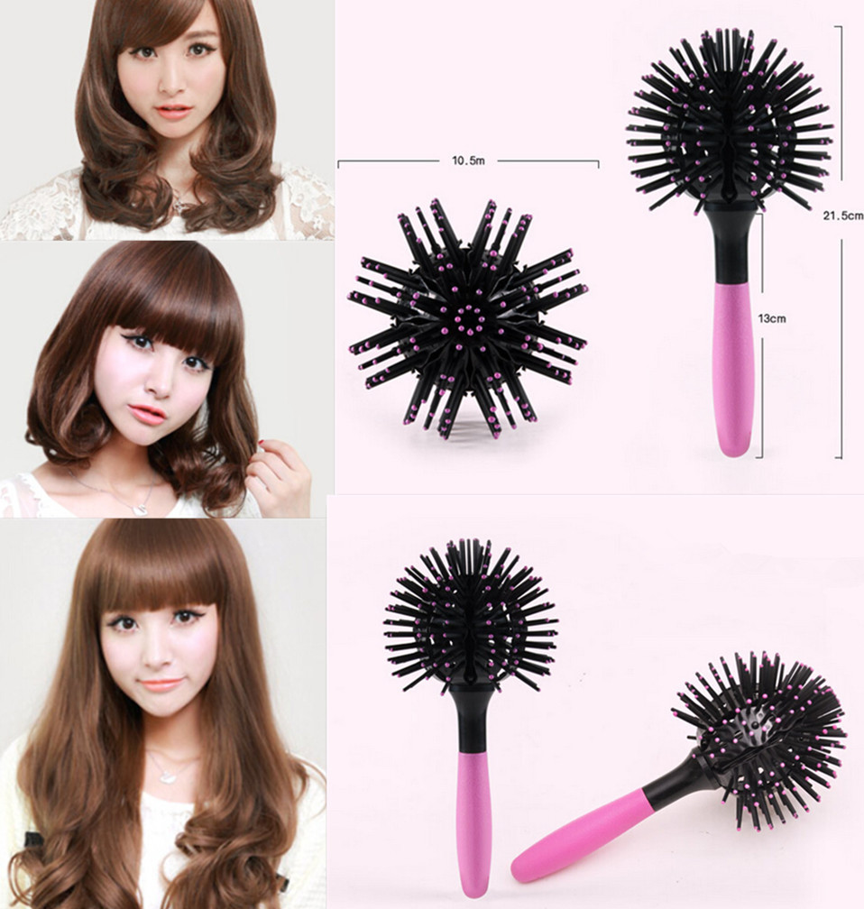 New 2017 Magic Round Hair Extension Brushes Comb Salon Styling