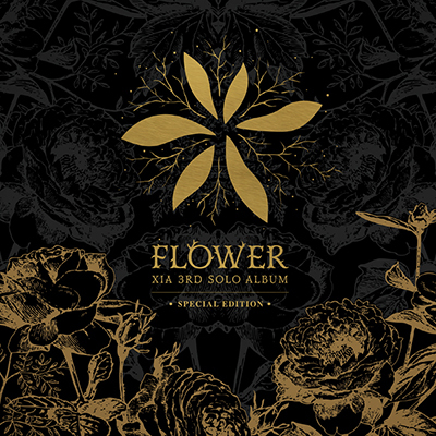 XIA 3RD SOLO ALBUM FLOWER (SPECIAL EDITION) ( + Photobook (48p)) Release Date 2015-5- 28 KOREA KPOP smtown live wolrd in seoul special photobook release date 2015 11 19 kpop album