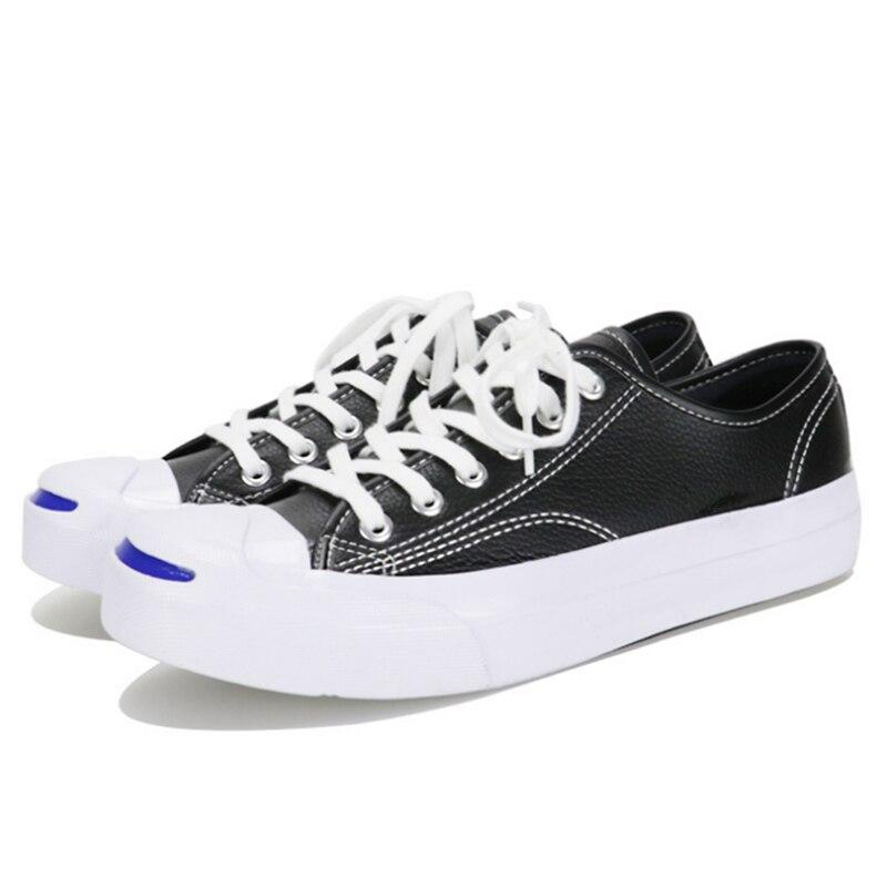 Chaussures Version De Street Noir Casual Art Chaussures Coréenne blanc Sauvage Nouvelle Rétro Beat Collège Tendance dn48XE