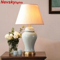 Modern ceramics Table lamps for bedroom lamparas de mesa para el dormitorio deco maison for living room masa lamps bed light led