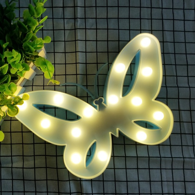 Butterfly Shaped Night Light