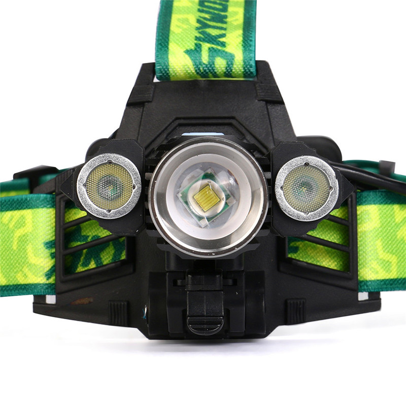 accesorios bicicleta 15000LM 3X XM-L T6 LED Rechargeable 18650 Headlamp Headlight Light Torch Lantern on a bicycle 170725 P30