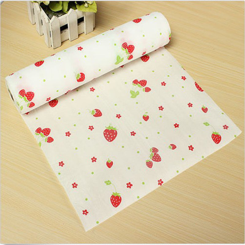 300x30cm Polka Dots Shelf Contact Paper Cabinet Drawer Liner Kitchen Table Mat China Mainland
