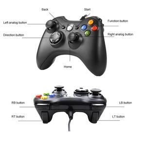 Image 4 - USB проводной контроллер Джойстик для Microsoft System PC джойстик для Windows для ПК Win 7 / 8/10 джойстик не для Xbox 360 джойстик