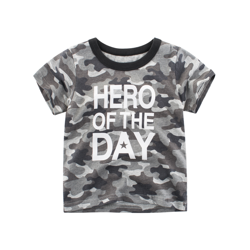 2019 Summer Childrens Boys T shirt Camouflage Print Casual Kids Clothes 2 3 4 5 6 7 8 Years Toddler Baby T-shirt Boys Tops2019 Summer Childrens Boys T shirt Camouflage Print Casual Kids Clothes 2 3 4 5 6 7 8 Years Toddler Baby T-shirt Boys Tops