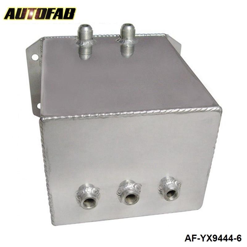 autofab-универсальный топлива уравнительный резервуар и топливных элементов и масляного бака 6л для универсального модели автомобиля, зеркальная полировка АФ-yx9444-6