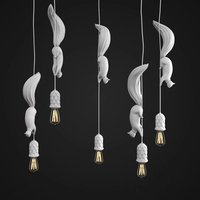 Nordic Macarons Restaurant Pendant Lights Dining Room Post modern Bar Lamps Danish Loft Industrial Style LED Lamps Decor Fixture