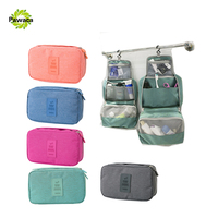 Travel Set High Quality Waterproof Portable Man Toiletry Bag Women Cosmetic Organizer Pouch Hanging Wash Package