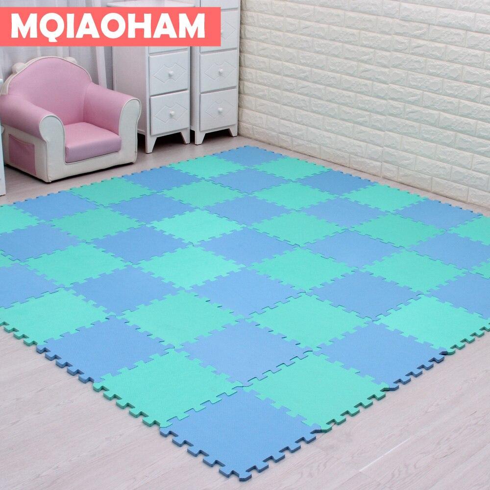 9pcs 30x30cm EVA Foam Puzzle Mat For Children Waterproof Soft Educational Gym Playmat Kids Rug Puzzle Carpet Tapete Bebe