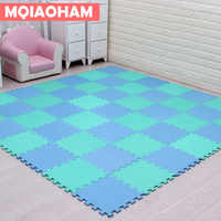 9pcs 30x30cm EVA Foam Puzzle Mat For Children Waterproof Soft Educational Gym Playmat Kids Rug Puzzle Carpet Tapete Bebe