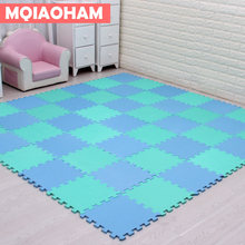 9pcs 30x30cm EVA Foam Puzzle Mat For Children Waterproof Soft Educational Gym Playmat Kids Rug Puzzle Carpet Tapete Bebe(China)