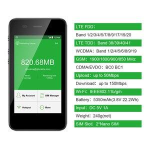 Image 5 - GlocalMe G3 4G LTE desbloqueado móvil WIFI Hotspot en todo el mundo de alta velocidad No SIM No itinerancia tarifa WIFI bolsillo Geek producido