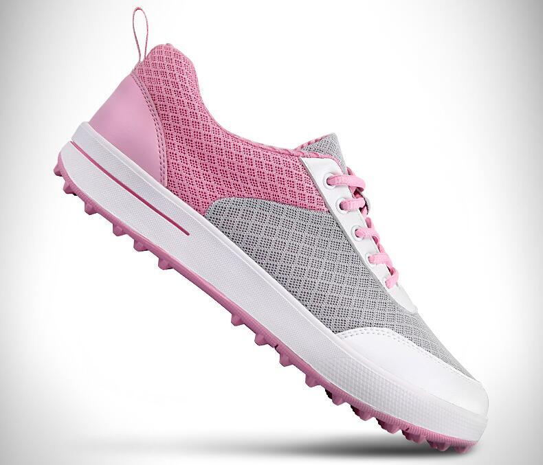 PGM женские Гольф спорт сетки воздуха Обувь свет Вес и устойчивый и Водонепроницаемый и дышащий и анти-заносить, бесплатная доставка