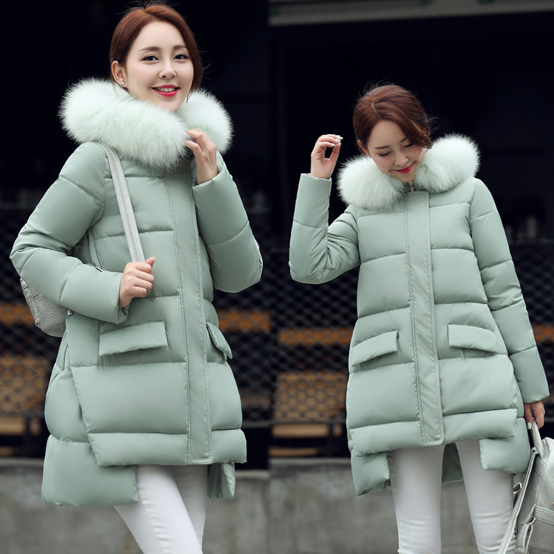 Maternity Coat Women Winter Down Jacket Warm Long Coats Girls ...