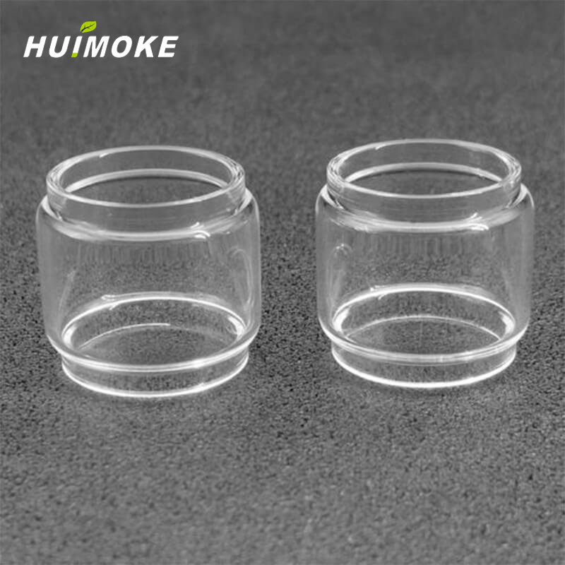 1/2pcs About 4ml/5.5ml Glass Tube Replacement For GEEKVAPE ZEUS 25mm Single Coil RTA Tank Or GeekVape Zeus Dual RTA 26mm Tank