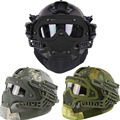Multi-function Tactical Paintball Fast Helmet with Protection mask,Goggles & G4 system