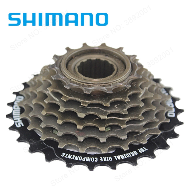 Cassettes, Freewheels & Cogs Sporting Goods Shimano Mf-tz21 14-28 Teeth 7 Speed Freewheel Choice Materials