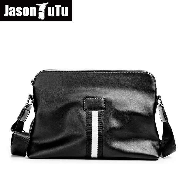 7278f42380bb Джейсон пачка человек сумка полосатый Кроссбоди мешок хорошего качества  Искусственная Кожа Мужские сумки через плечо черный