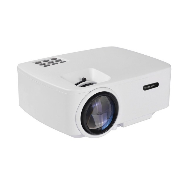 Special Offers Mini 1080P HD Projector Home Theater Cinema Multimedia Player Support For Android For Apple Phone Mirroring US P