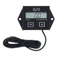 Tachymètre numérique moteur Tach heure compteur jauge Inductive pour moto bateau voiture course moteur LCD affichage étanche
