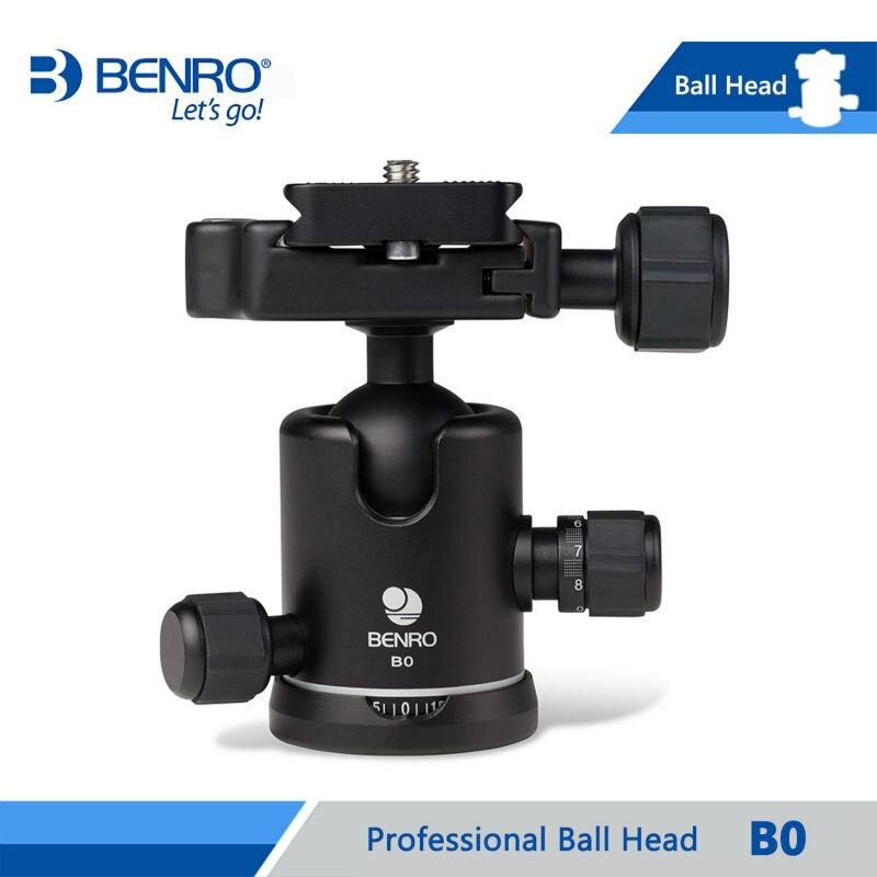 BENRO B0 Ballhead Professional Ball Heads For Benro Camera Tripod Aluminum Dual Action Ballheads Max Loading 8kg DHL Free Ship  цены