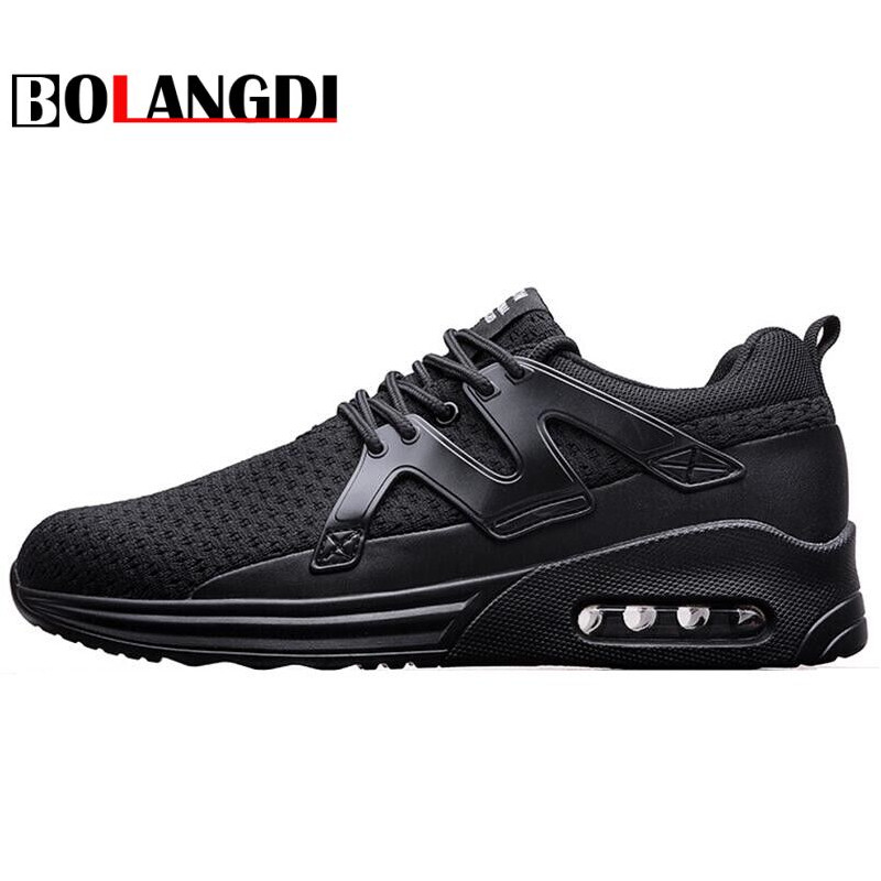 Bolangdi Men Running Shoes Autumn Mesh Sneakers Breathable Jogging Shoes New Man Outdoor Sports Shoes Male Sneakers Size 39-46 zenvbnv men hollow out breathable beach 2018 summer slippers flip flops unisex casual slip on flats sandals men shoes zapatos