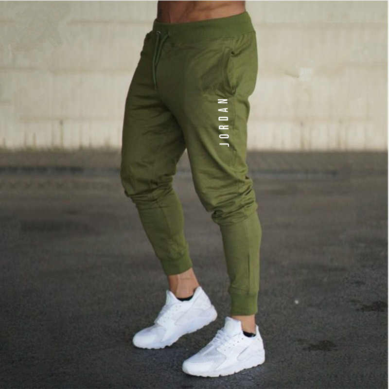 f22bded4ce367d trousers men Jordan 23 sweatpants Elastic fitness gyms joggers pants high  quality autumn Winter cotton pantalon
