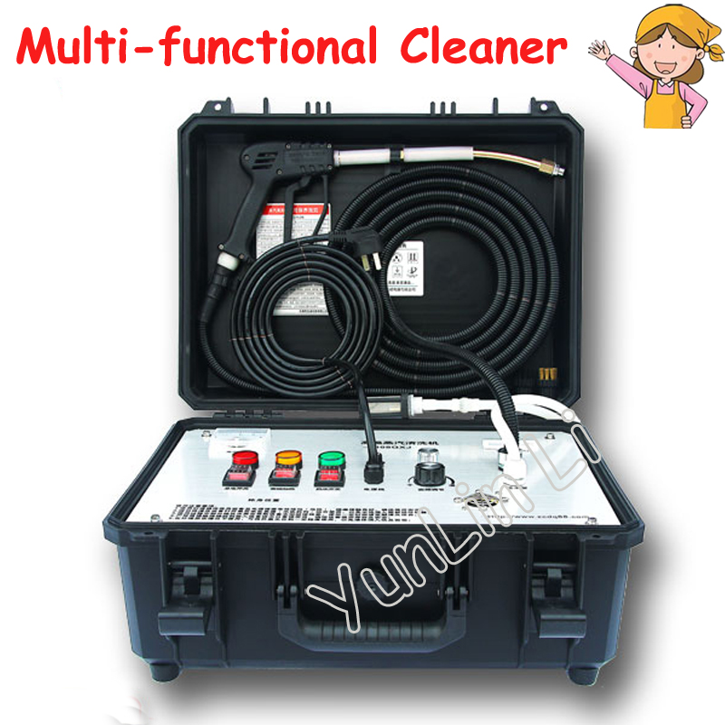 High Temperature Steam Cleaning Machine Portable Household Appliance Steam Cleaner With High Efficiency LS-2408QXJ 1pc household high temperature kitchen bathroom steam cleaning machine handheld high temperature sterilization washing machine